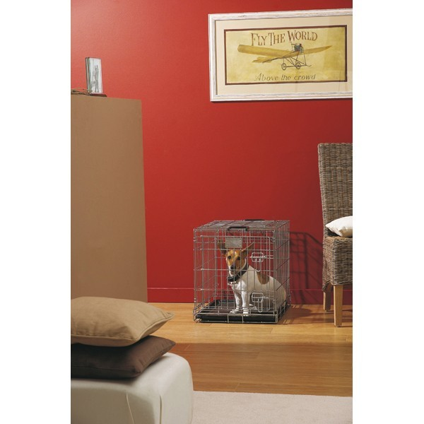 Cage transport chien Dog Residence 50cm Savic  557331