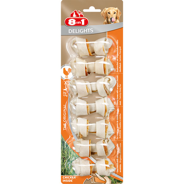 Friandises Chien - 8in1 Delights Bone XS x7 557490
