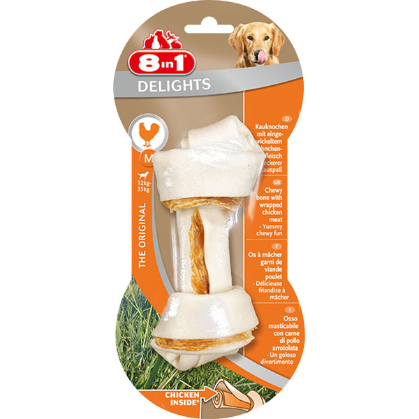 Friandise Chien - 8in1 Delights Bone M 557492