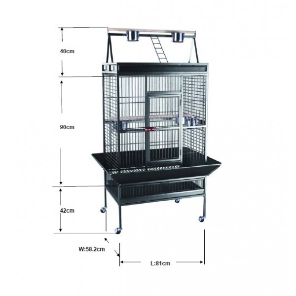 Cage perroquet XL Extra Large 557796
