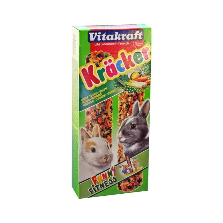 Kräcker aux légumes Lapins x2 Vitakraft® 110g 56910