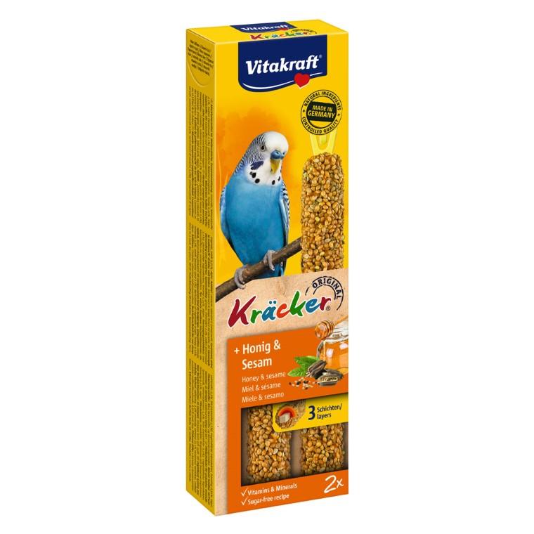 Kräcker x2 miel Perruches  Vitakraft® 60g 56925