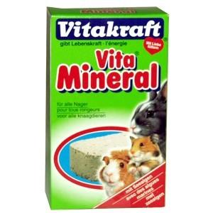 Bloc minéral pour rongeurs Vitakraft® 168g 56956
