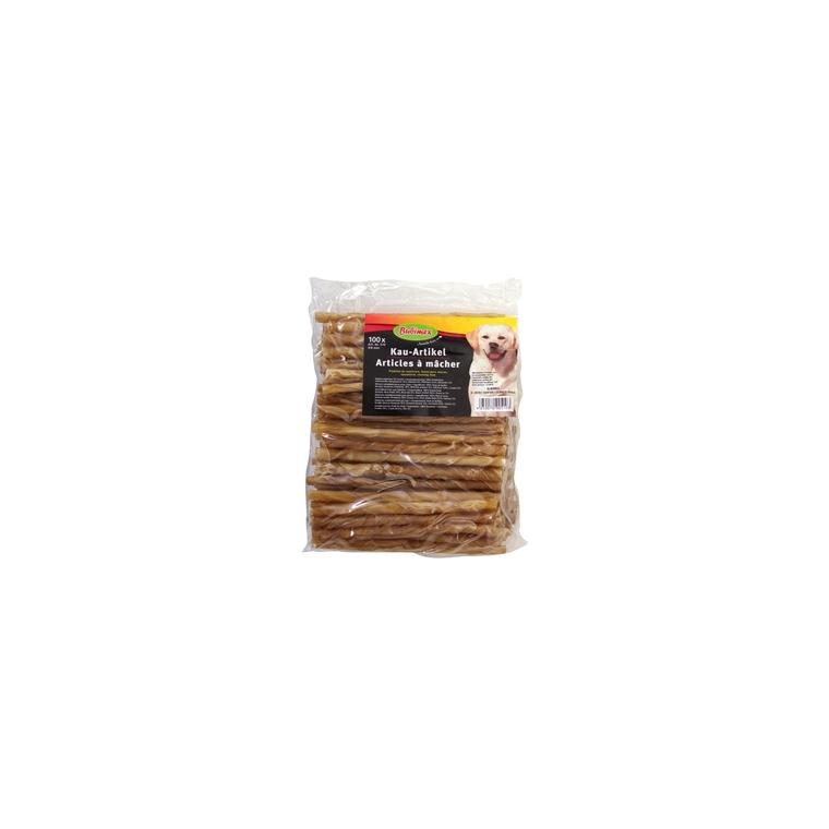 Friandise chien Sticks torsadés 4/6mm x 10 (DATE COURTE) 572741
