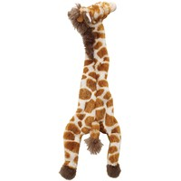 Jouet pour chien Girafe plate 50cm 58095