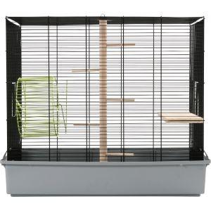Cage pour écureuil argent 58966