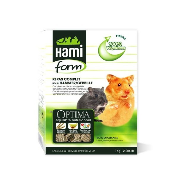 Repas complet hamsters Hamiform 900g