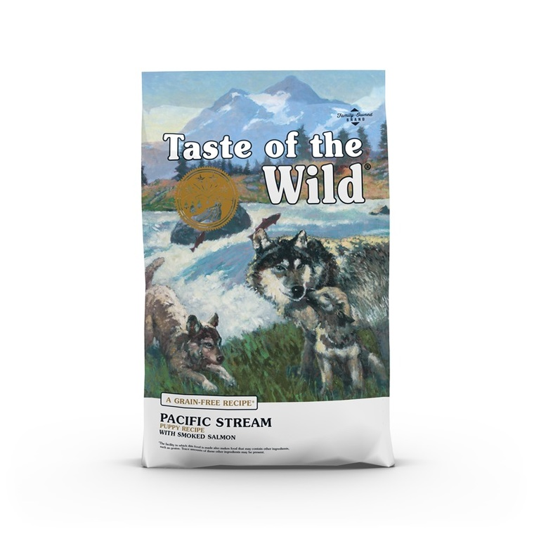 Croquettes chiot - Taste of the Wild Pacific Stream Puppy - 12,2kg