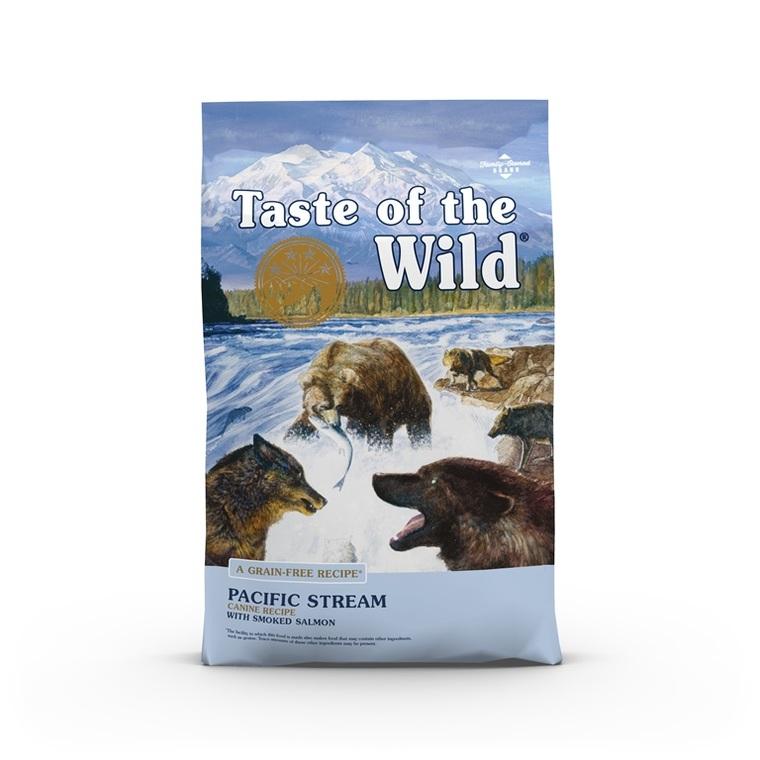 Croquettes chien - Taste of the Wild Pacific Stream - 5,6kg
