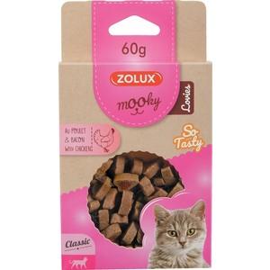 Friandises pour chat Mooky lovies au poulet en étui de 60 g 606902