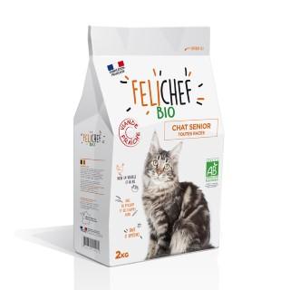 Croquettes Chat - Felichef Bio Senior 2kg 612425