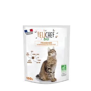 Friandises Chat - Felichef Bio Plaisir Dressage 150g 612447