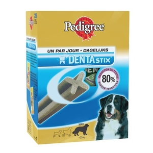 Friandise grand chien Pedigree dentastix x28 720g 612665