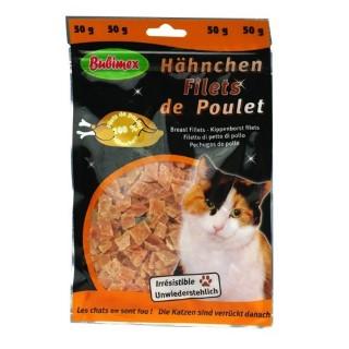 Friandise chats - Filets de poulet Bubimex 50g 634503