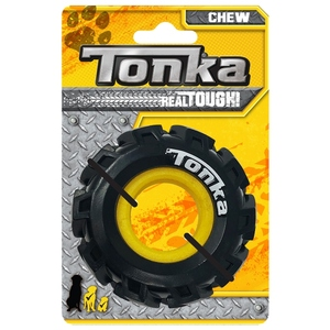 Jouet Chien Tonka pneu avec jante Ø 8,9 cm 657368