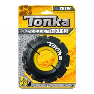 Jouet Chien Tonka pneu avec jante Ø 12,7 cm 657369