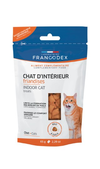 Friandises chat - Francodex Chat d'interieur 65g 670447