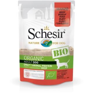 Sachet Chien – Schesir bio Bœuf - 85 gr 672769