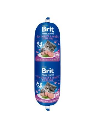 Saucisse pour chat - Brit Premium Sausage Poulet et Dinde 180g 673689