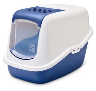 Maison de toilette pour chat Nestor Bleu nordique 691777