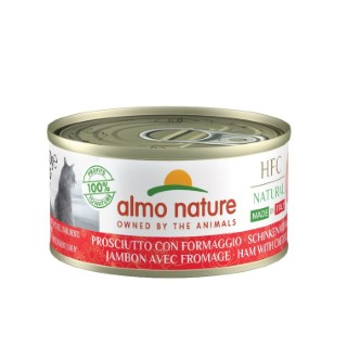 Boîte chat – Almo Nature HFC Made in Italy Jambon avec Parmigiano 70 gr 696634