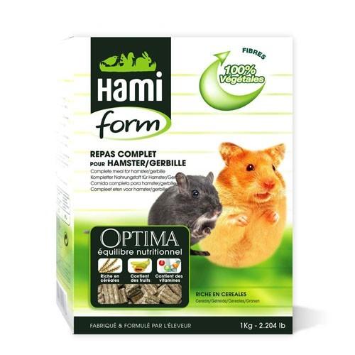 Repas complet hamsters Hamiform 1kg 609525