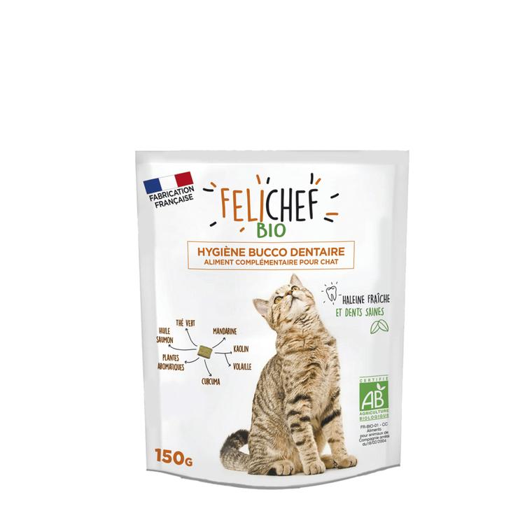 Croquettes Chat - Felichef Hygiéne buco dentaire 150g 612445