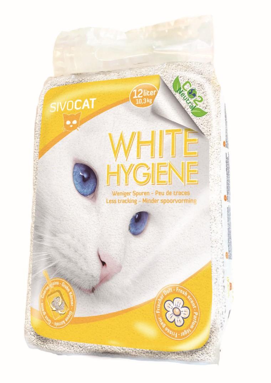 Litière pour chat Sivocat White Hygiene 61383