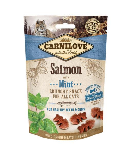 Friandises chat - Carnilove Crunchy Snack Saumon et Menthe 635863