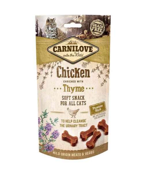 Friandises chat - Carnilove Soft Snack Poulet et Thym 635865
