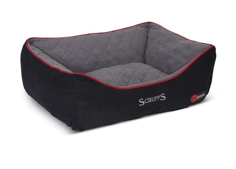 Corbeille Scruffs Thermal Noir Taille XL - 90 x 70 cm 658355