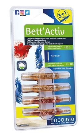 Traitement de l'eau - Prodibio Bett'activ - 3+1 ampoules 671745