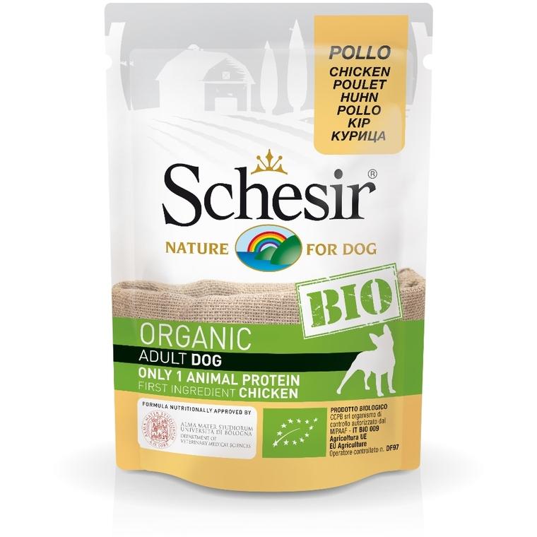 Sachet Chien – Schesir bio Poulet - 85 gr 672767