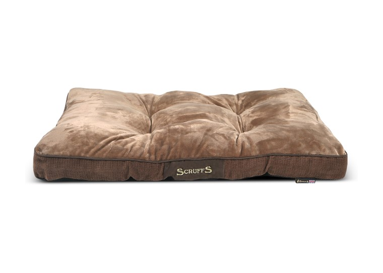 Coussin Scruffs Chester Marron Taille M - 82 x 58 cm 673299