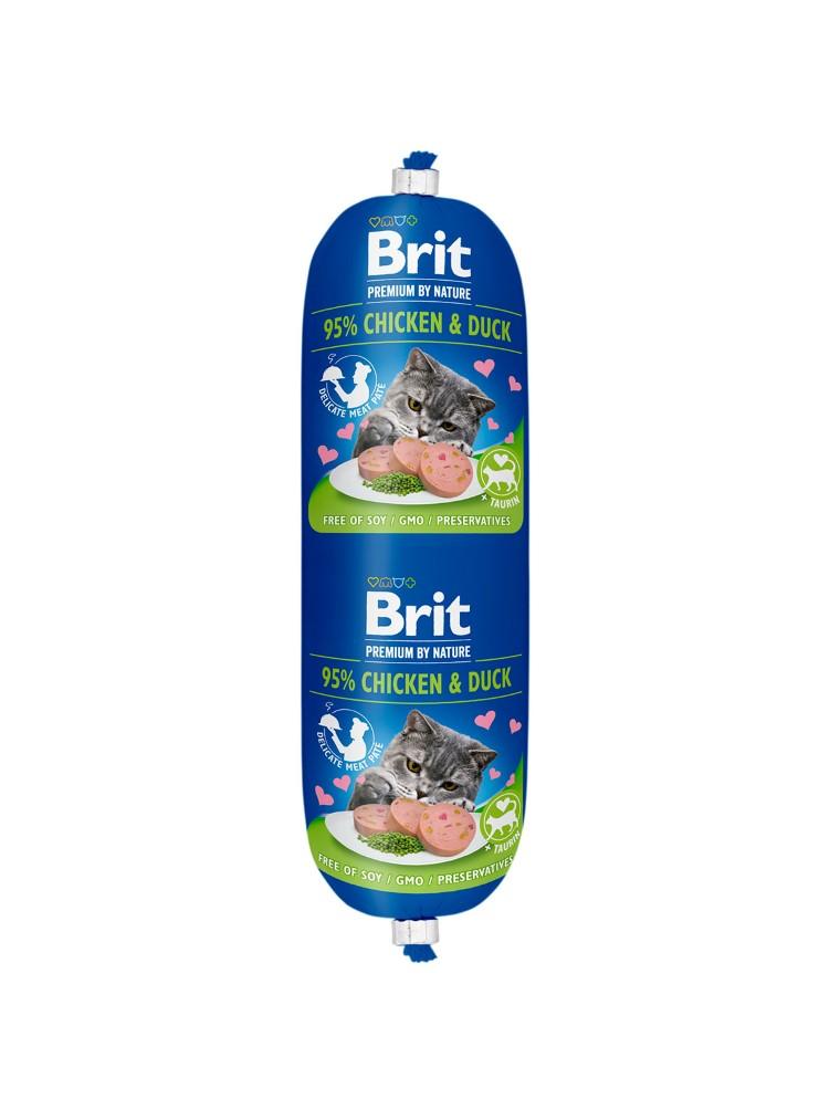 Saucisse pour chat - Brit Premium Sausage Poulet et Canard 180g 673688