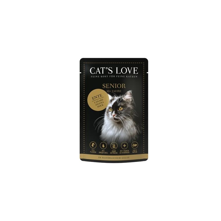 Sachet Chat Senior – Cat's Love Canard 85 gr 676817