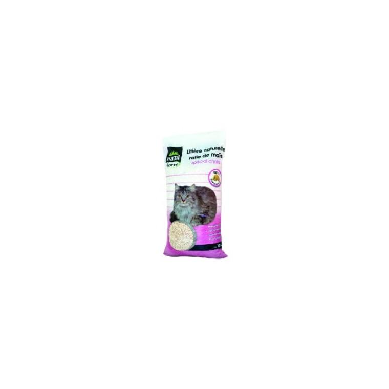Litière chat rafle de maïs Hamiform® 10L 678848