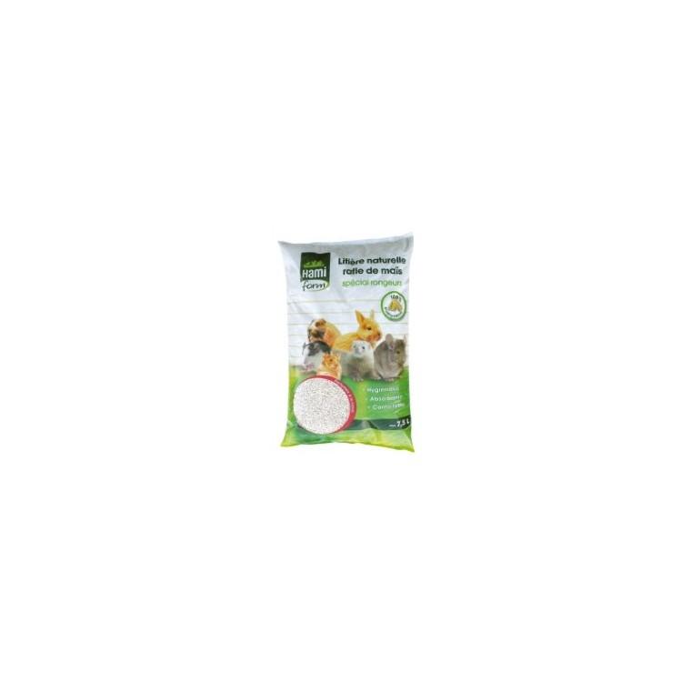 Litière Rafle Mais parfum fraise Hamiform® 7.5l 678849