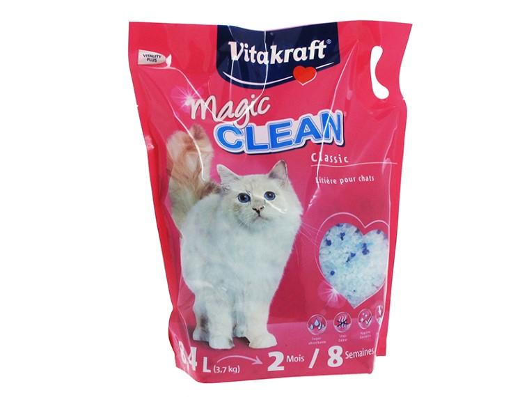 Litière pour chat Magic Clean Vitakraft® - 8,4L 678851