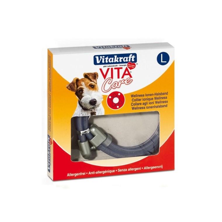 Collier Ionique anti stress chiens L 14,5/17,5cm 678905