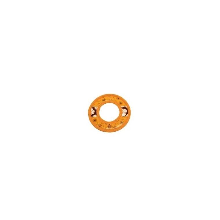Jouet chien hawaii frisbee orange 20cm 678908