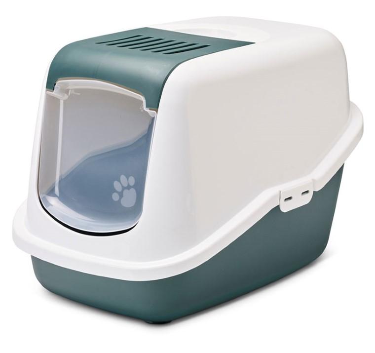 Maison de toilette pour chat Nestor Vert nordique 691778