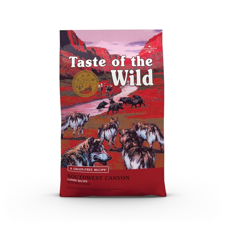 Croquettes chien - Taste of the Wild Southwest Canyon - 12,2kg 693884