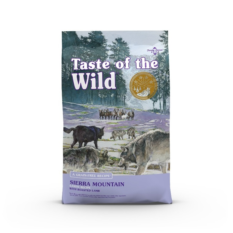 Croquettes chien - Taste of the Wild Sierra Mountain Canine - 12,2kg 693887