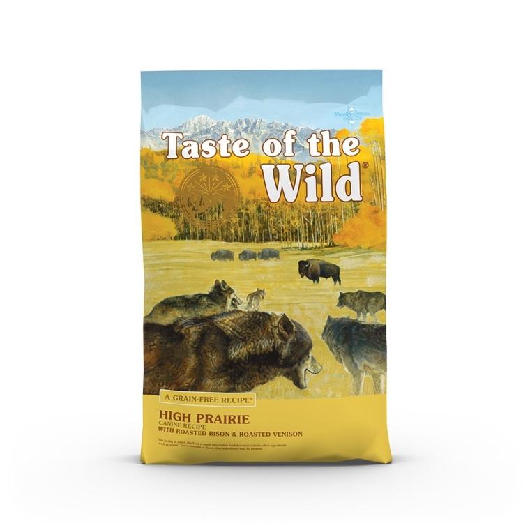 Croquettes chien - Taste of the Wild High Prairie - 12,2kg 693891