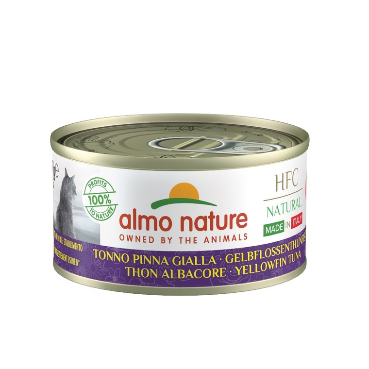 Boîte Chat – Almo Nature HFC Made in Italy Thon 70 gr 696637