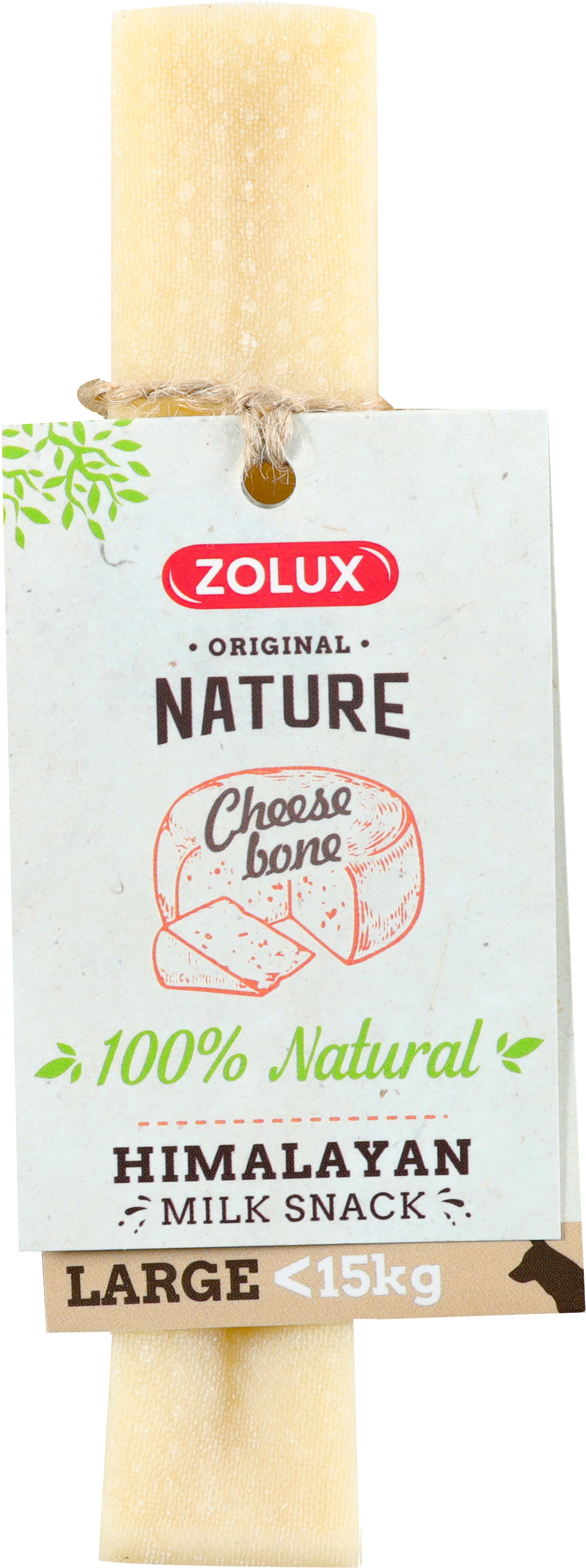 Friandise chien - Zolux cheese bone Taille L