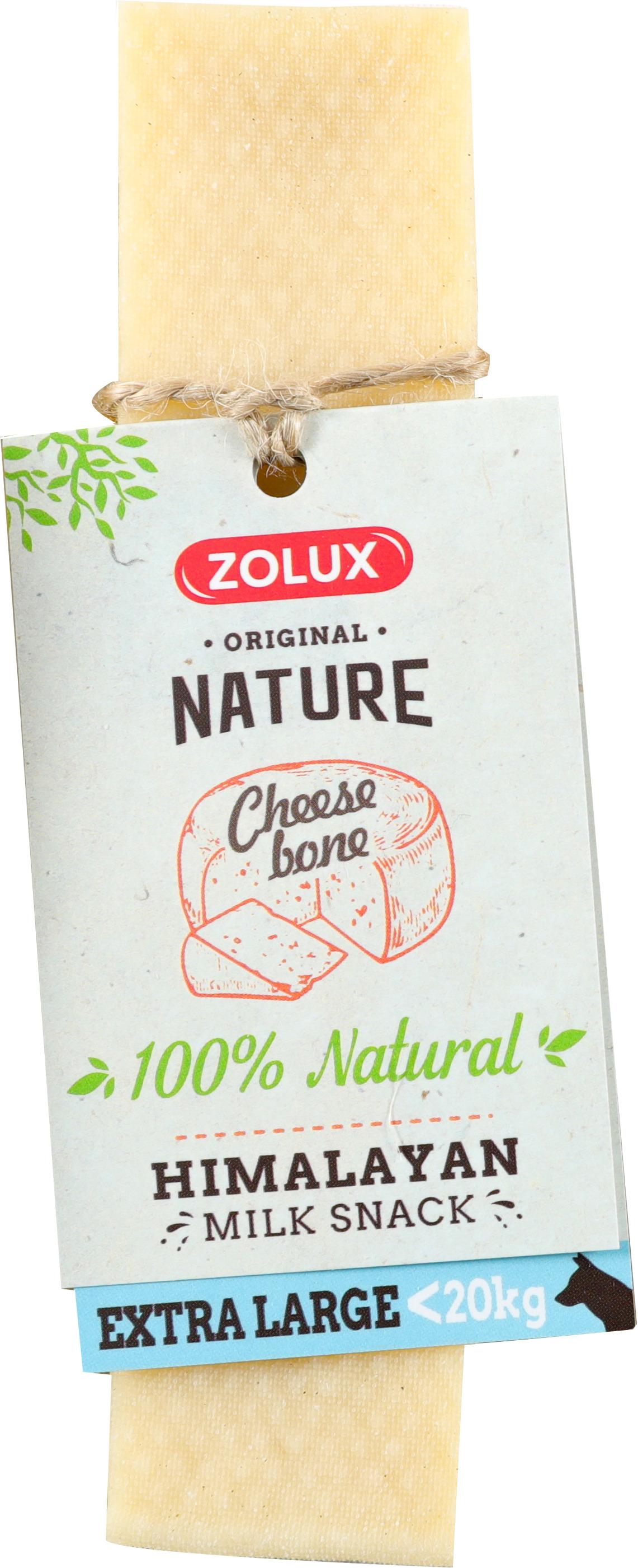 Friandise chien - Zolux cheese bone Taille XL