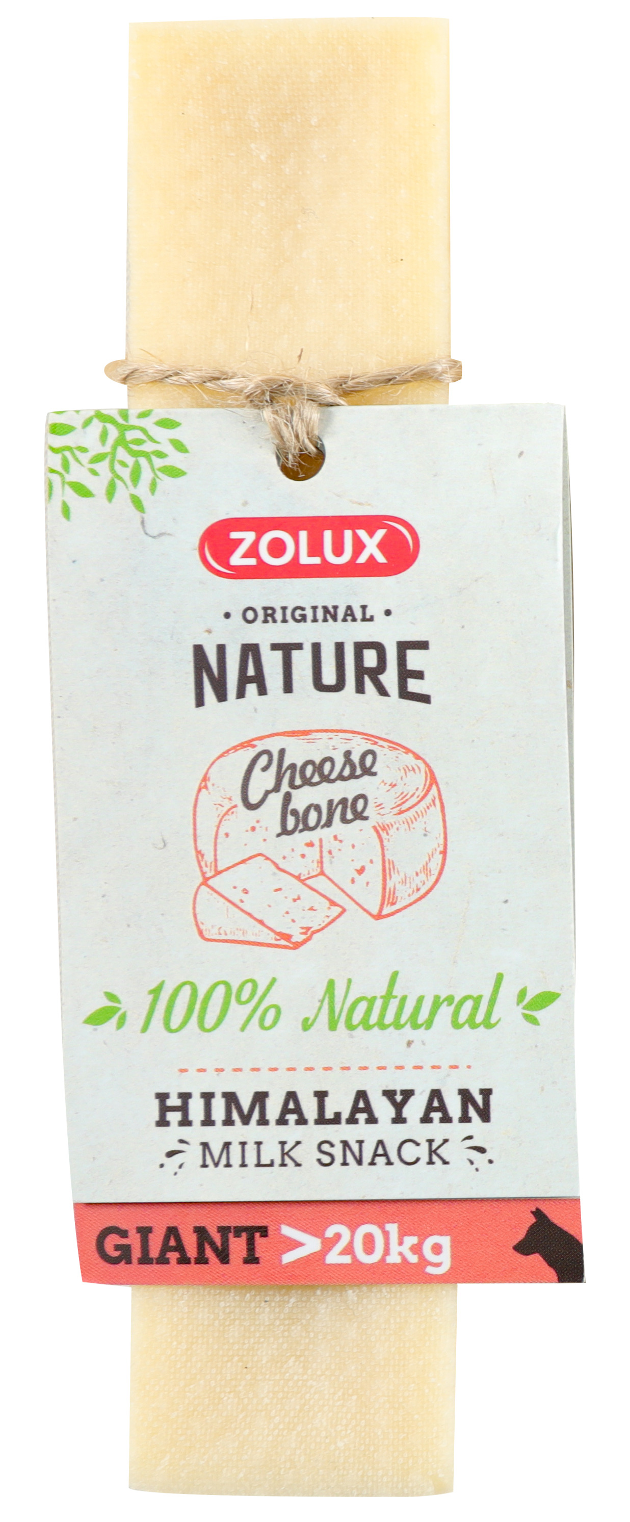Friandise chien - Zolux cheese bone Taille Giant