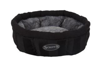 Corbeille Scruffs Aristocat noir - Ø 45cm 700776